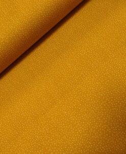 stenzo stipjes oker geel katoenen popeline
