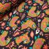 stenzo lama donkerblauw multi katoenen tricot