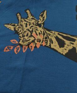 ilja francht terry giraf blauw oker