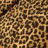 panterprint bruin zwart viscose crepe