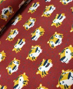 kaselotti furry face rood geel tijgers