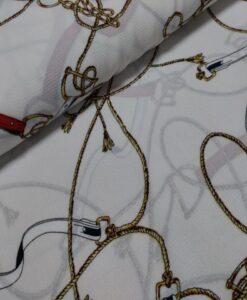 Ropes and Belts bubble chiffon