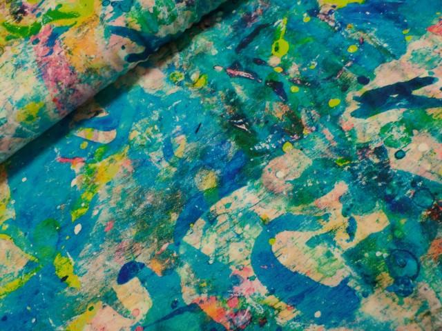 mies en moos sweattricot street art truquoise
