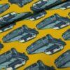 Cadillac retro big cars sweattricot Mies en Moos