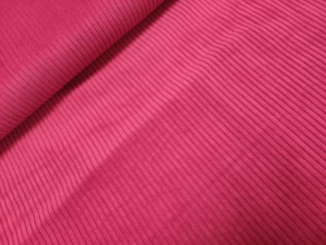 rcibfluweel grof fuchsia roze