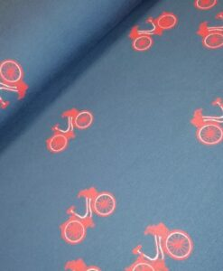 french terry dutch bikes blauw rood