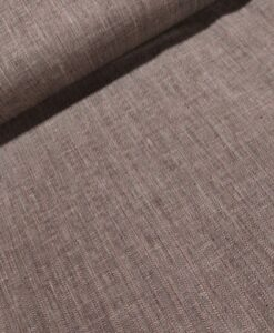 linnen katoen visgraat beige bruin