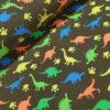 neon dino's katoenen tricot