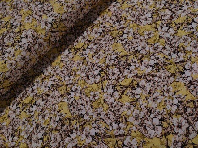 tiricot bloemetje geel wit nooteboom
