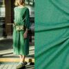 fibre mood Marion mousseline groen