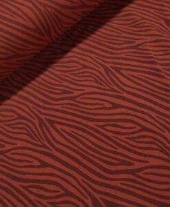 zebrastrepen roet katoenen tricot