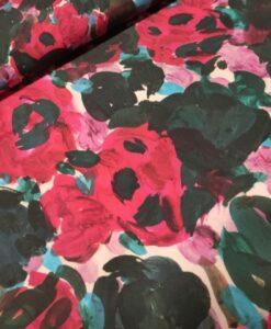 visxose red flower print