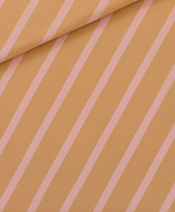 see you at six french terry diagonals fenugreek brown