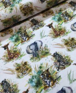 stenz0 wilde dieren katoenen tricot