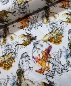 Stenzeo trico wilde dieren roest wit