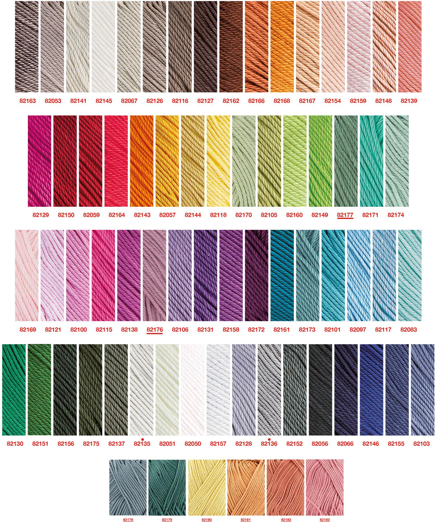 capri kleurenkaart