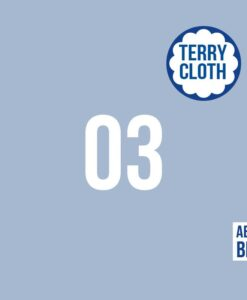 about blue spons terry cloth cashmere bluw
