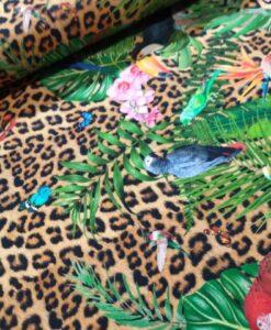 stenzo luipaars bloemenvlinder tricot