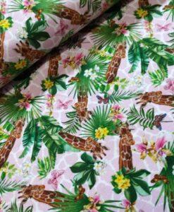 stenzo giraffes roze digitale tricot