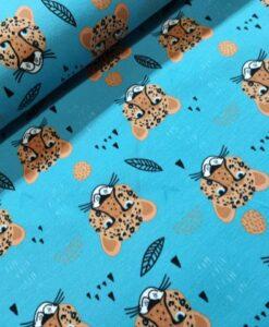 stenzo luipaard koppen aqua blauw