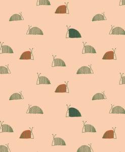 art gallery fabrics Snail Mail Moss