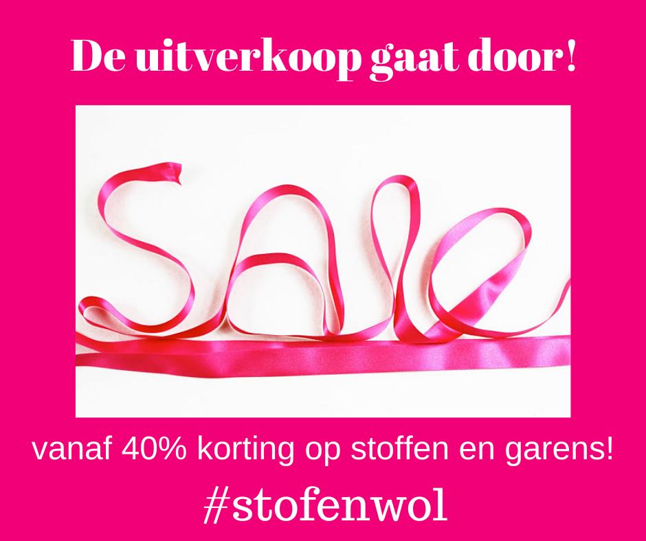 sale bij Stof&Wol