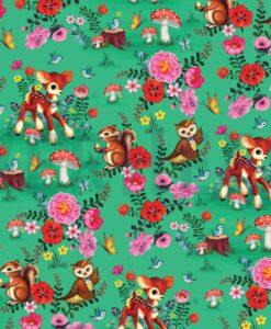 Fiona hewit bambi en friends groen