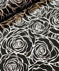 sarah rozen black and white katoenen tricot